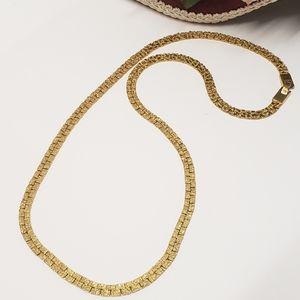 """Unique Vintage Gold tone 24"""" Chain Necklace"""
